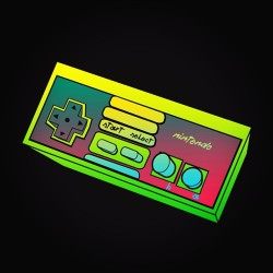 otlgaming:  NES CONTROLLER (WIP) Preview from an upcoming piece I'm working on. Things may change. (via nerdwire)