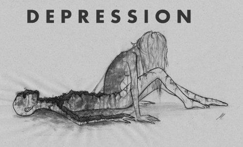 foreversadbitch:  depression is like war.  either you win.. or die trying..