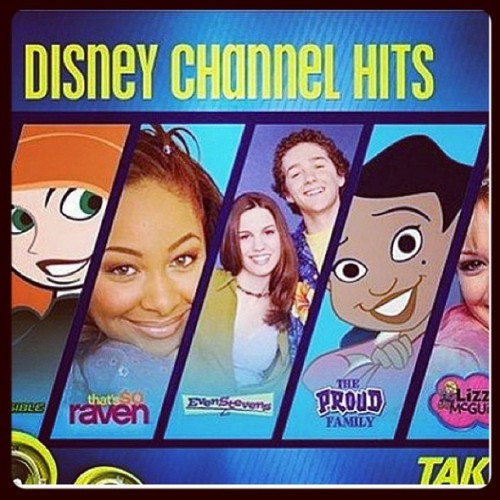 Now this right here is Disney channel! #kimpossible #thatssoraven #lizziemcguire #sonnywithachance #JONAS #philofthefuture #evenstevens #proudfamily