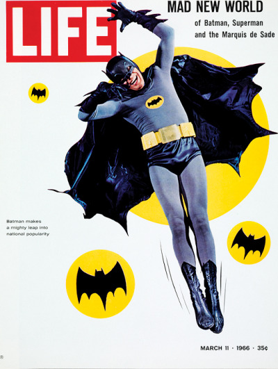 life:  On this day in LIFE — March 11, 1966: Batman!