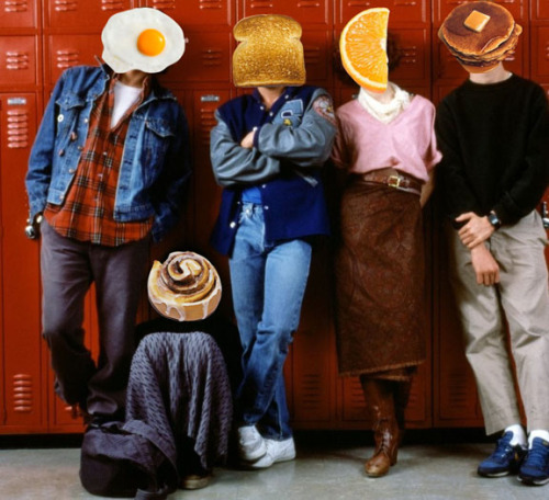 frankily:  virtualjew:   The Breakfast Club  this is the best thing i have seen all day  Man I love pancakes and cinnamon scrolls