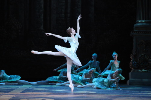 Svetlana Zakharova in Sleeping Beauty (Photo: Damir Yusupov)