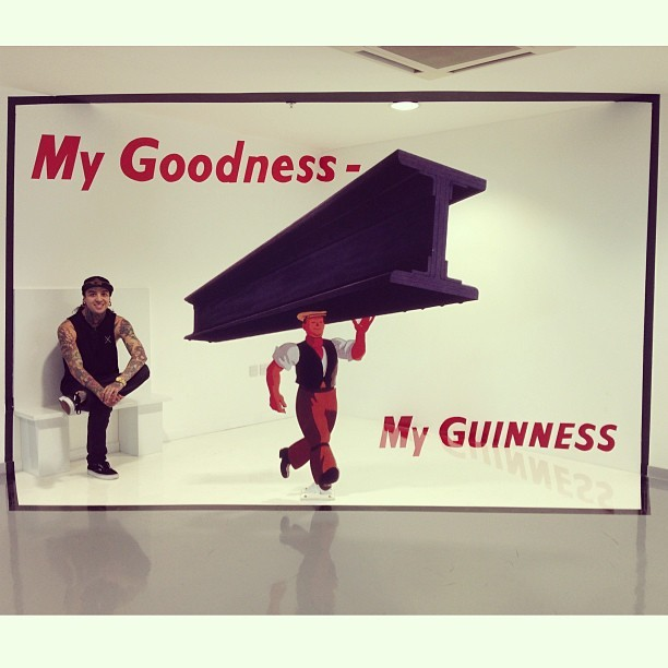 tonyperry:  Got a chance to visit the Guinness storehouse in Dublin yesterday!