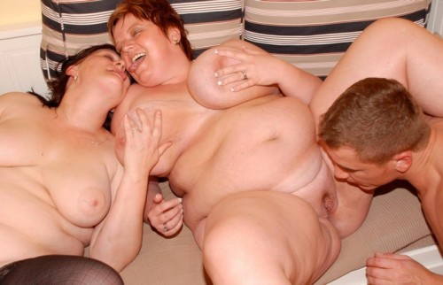 Mature bbw group sex