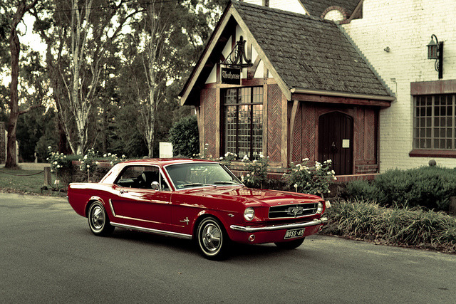 ford-mustang-generation:  a long time ago….. by evvvvan on Flickr.  unffffffff….