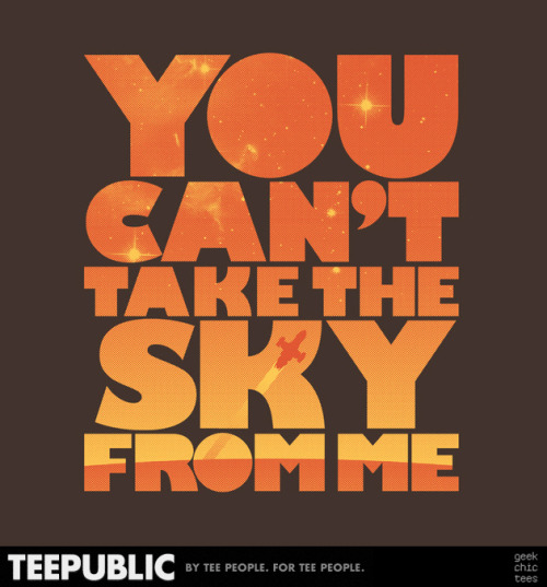 You Can't Take the Sky (Orange/Brown) seeking pre-orders for funding at TeePublic. #firefly #serenity #shiny #browncoats #whedon