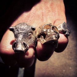 @meetginzilla rocks the Wild Boar Ring (at The Great Frog)