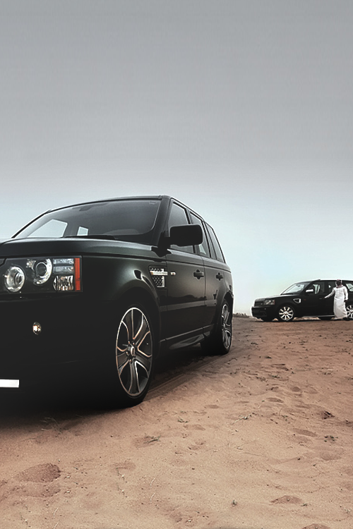 classyhustler:  Range Rovers source