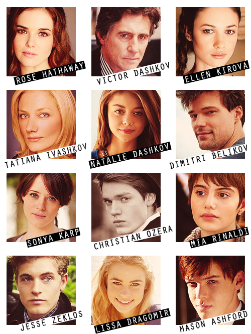Vampire Academy: Blood Sisters Official Cast