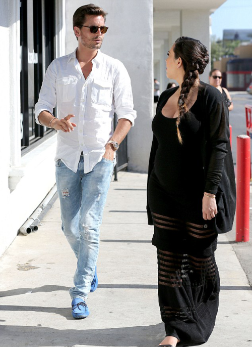 May 14, 2013: Kim and Scott attending a CPR class in LA.