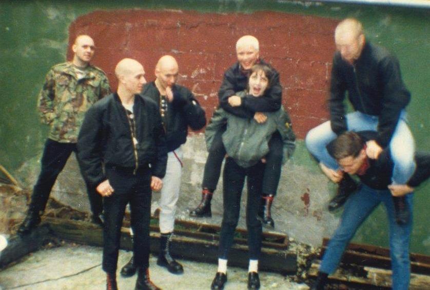 ian stuart donaldson Nicky Crane skinhead 80's england rock against communism   nolabelcrew.tumblr.com