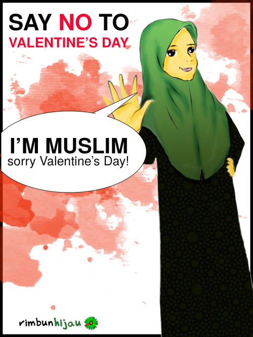 say NO to Valentine's Day!