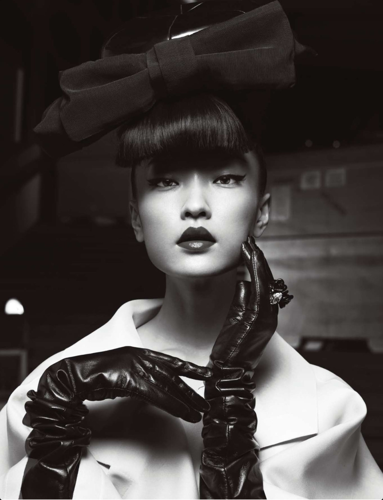 modelsofcolor:  Du Juan by Yin Chao for Numero China #28 April 2013.
