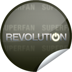 I just unlocked the Revolution Superfan sticker on GetGlue                      3402 others have also unlocked the Revolution Superfan sticker on GetGlue.com                  You've made your way out of the darkness! Congrats you are a superfan of Revolution. Thanks for checking-in to the first season on NBC. Share this one proudly. It's from our friends at NBC.
