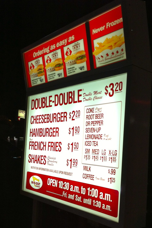 In-n-Out! Love it!