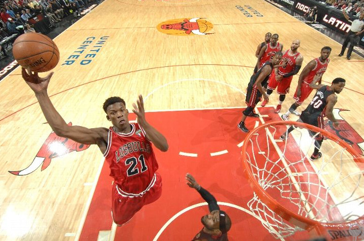 the-bulls:  KING JIMMY!