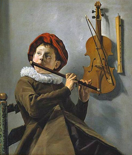 Judith Leyster Boy Playing the Flute 1630-35
