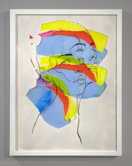 erikjonesart:  Erik Jones  /  Layers Portrait 02  /  2013