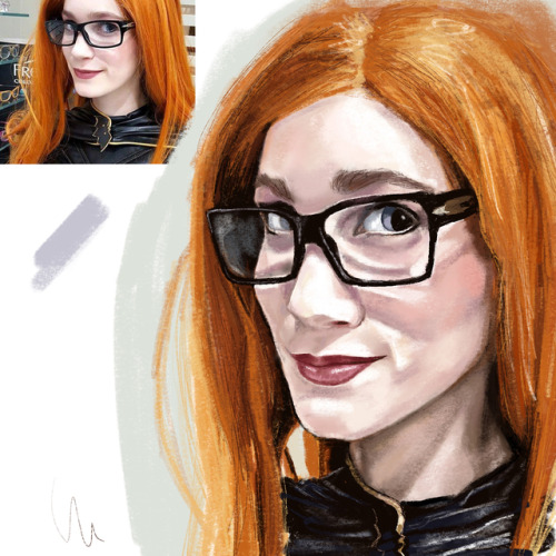 My inspiration for tonight's quick sketch was @nicole_schiralli .Swipe for process video. I loved the representation of Barabara here. Plus after I drew Chun-li, had to do my other fav, Batgirl! #procreate #batgirl #cosplay #batgirlcosplay #barbaragordon #portrait #timelapse #video #process #digitalpainting #digitalart #art #artistoninstagram #sketch #colorstudy #femalemodel #reference