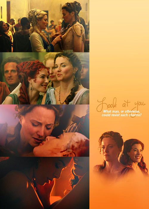 Favorite f/f ships from TV » Gaia/Lucretia (Spartacus)