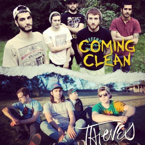 Big things! Get stoked for the Coming Clean / Thieves split coming out on Love & Death Records in early summer! #pop-punk #split #vinyl #cassette #LNDRECS #nj #tx http://instagr.am/p/WkgGF6NsIy/ Follow @LNDRECS on Instagram