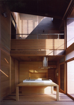 justthedesign:  Archivi Architects & Associates, Wakura House, Kitchen, Photography By Yutaka Kinumaki