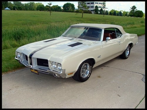 musclecardreaming:  71 Olds 442