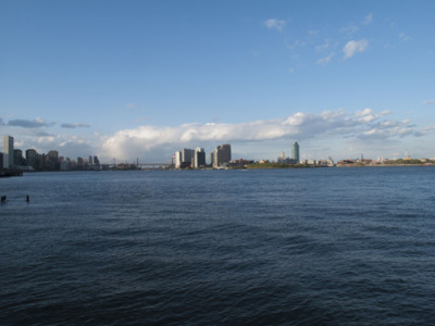 """North On The East River""NYC"