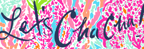 prettyinpinkprep:  Let's do the Cha Cha with Lilly!