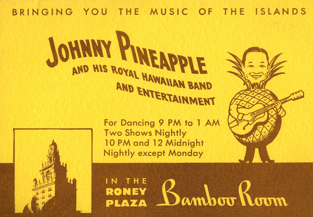 "newhousebooks:  ""Johnny Pineapple"" Tourist brochure, c.1957, from my collection."