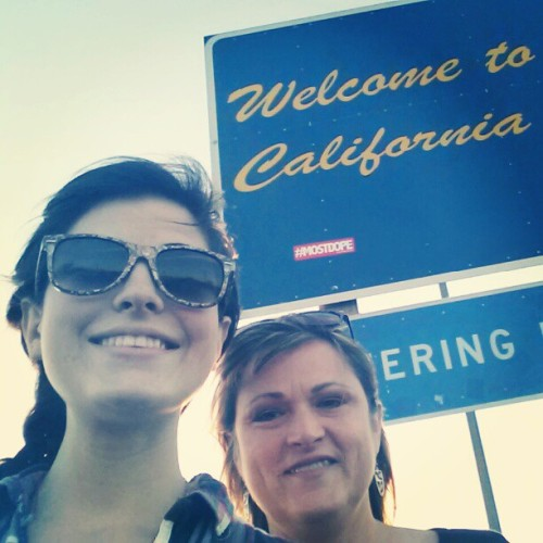 going going back back to cali cali (at California/Arizona Border)