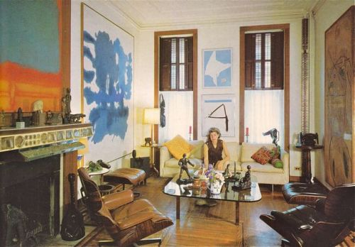 modmuse:  Home of Robert Motherwell http://mondo-blogo.blogspot.com/2012/12/artists-as-collectors-1967-edition.html