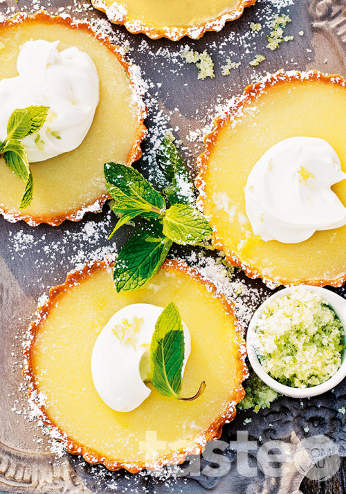 These gourmet, cocktail-inspired Margarita tarts are sure to impress. (Recipe by Valli Little; Photography by Andy Lewis)