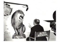 Alfred Hitchcock Directs the MGM Lion, 1958