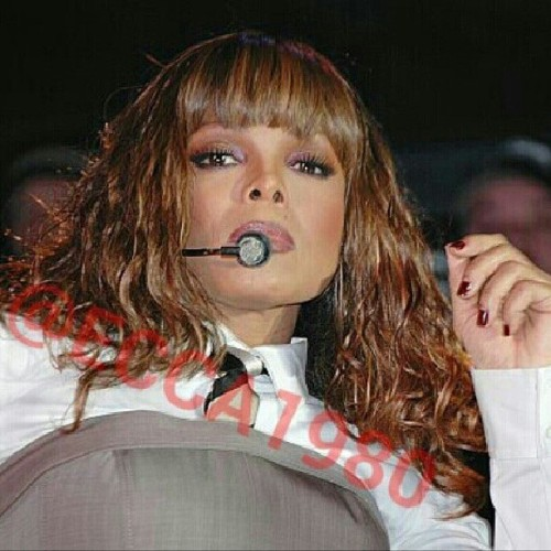 Happy Birthday to a #living #legend and a true #icon, Miss #Janet #Jackson. #47 years young and still showing the new jills how it's done. #tbt #Discipline #NYC #Nokia #Theater #Times #Square #2008