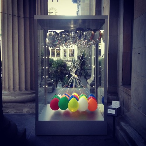 Untitled (balloons) by Tom Loughlin