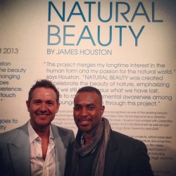 W/@TheHoustonEffect as he debuts #JHNaturalBeauty at @MilkStudios #MilkGallery (at Milk Gallery)