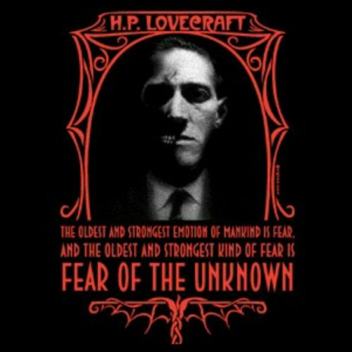 thegirlwhocanxoxo:  #hplovecraft #fear #unknown