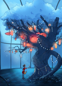 theimages:  The Wish Tree, Aurelie Neyret