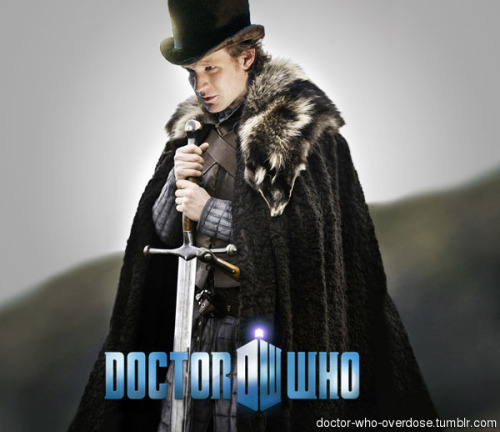 doctor-who-overdose:  My contribution to the Christmas special cross-over taglineClick for the best DoctorWho tumblr ever.   This is EXACTLY what I was thinking every time… I was like… where are the dire wolves at?