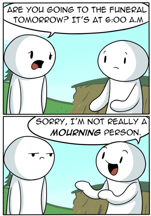 LOL funny comic pun clean theodd1sout •
