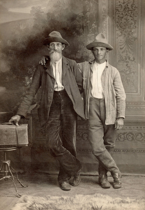 J.R. And Sam Perkins; Lexington, Indian Territory, 1901 1bohemian