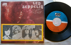 "Led Zeppelin ""D'yer Maker"" / ""The Crunge"" Single - Atlantic Records, Yugoslavia (1974)."