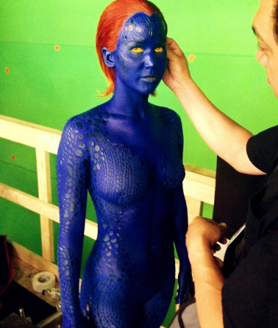 First look at Jennifer as Mystique in New 'X-Men' (x)