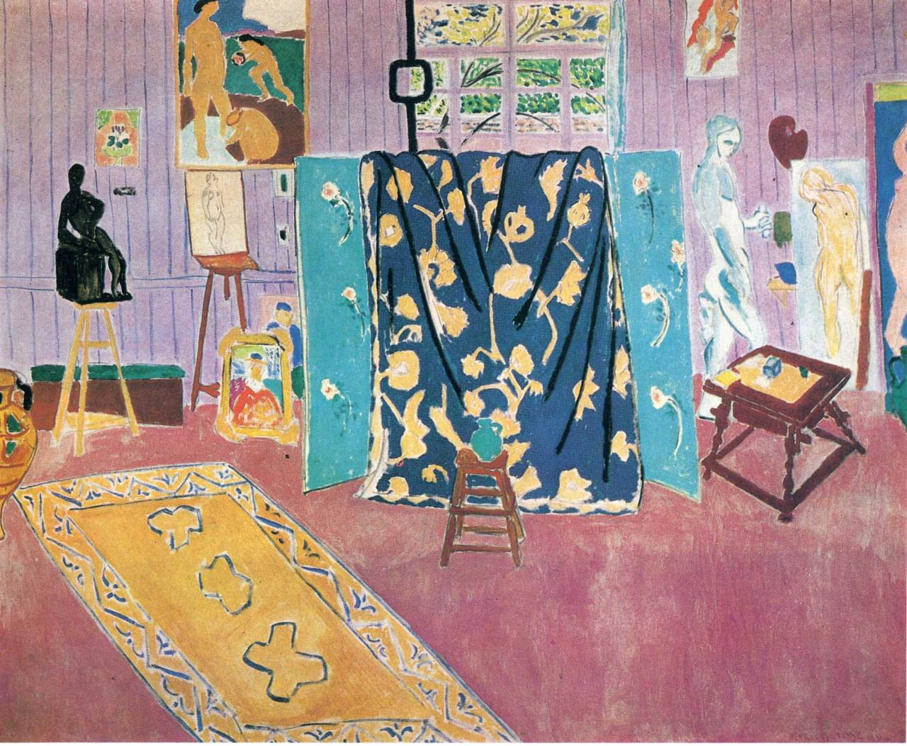 "christopherschreck:  Matisse, ""The Pink Studio,"" 1911"