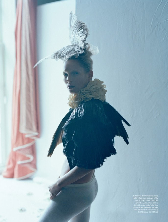 "kate moss in ""waltz darling"" by tim walker for love #8 fw 12"