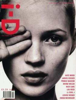 Kate Moss, i-D #149 THE SURVIVAL ISSUE [February 1996]. Photo: David Sims