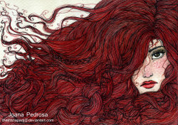 artmonia:  Red for Axelle by Joana Pedrosa.