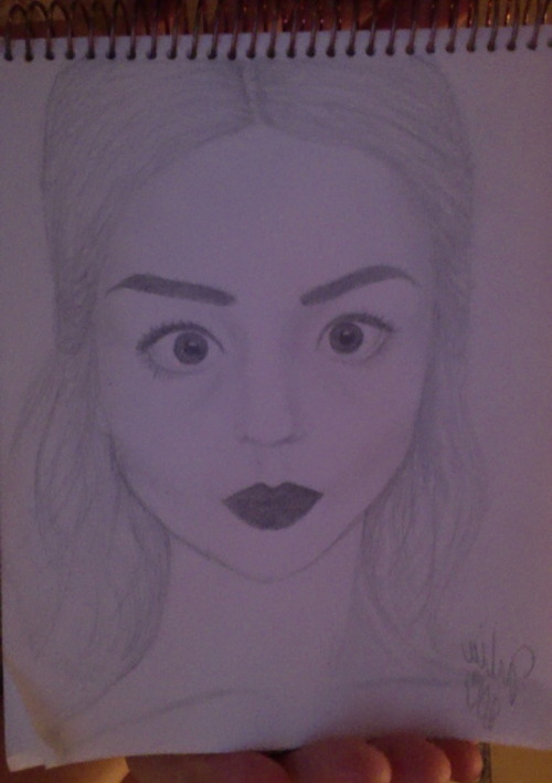 imunderthepillow:  just drew Allison Harvard, pretty happy with it even though she is much prettier in pictures