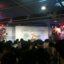 Im now broadcasting live @ Cherry Convention 2013